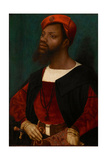 Portrait of an African Man, C.1530 Giclee Print by Jan Mostaert