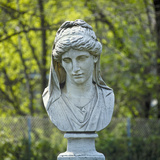 Bust of the Goddess Hera, 19th Century, from the Castle Grounds in Blankensee (Brandenburg), on… Photographic Print