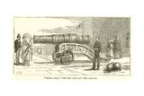 """Mons Meg,"" the Big Gun at the Castle Giclee Print by  English School"