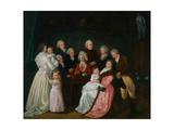 Family Reclam, C.1790 Giclee Print by Johann Friedrich August Tischbein