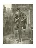 King Richard III. Act I, Scene II Giclee Print by Felix Octavius Carr Darley