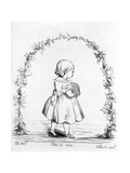 Victoria, the Princess Royal, Engraved by Prince Albert, 1842 Giclee Print by  Queen Victoria