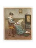 Meditation, 1875 Giclee Print by Edward Frederick Brewtnall