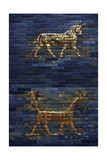 Ishtar Gate. The Eight Gate of the Inner Wall of Babylon. Built in 575 BC by Order to… Giclee Print