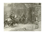 Second Part King Henry Iv. Act I, Scene I Giclee Print by Felix Octavius Carr Darley