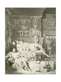 Antony and Cleopatra. Act-V, Scene II Giclee Print by Felix Octavius Carr Darley