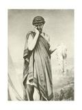 Cymbeline. Act V-Scene I Giclee Print by Felix Octavius Carr Darley
