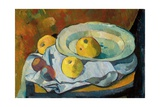Plate of Apples, 1891 Lámina giclée por Paul Serusier