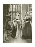 King Henry Viii. Act II, Scene III Giclee Print by Felix Octavius Carr Darley