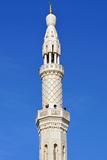 Minaret of the Jumeirah Mosque, Dubai, United Arab Emirates Photographic Print