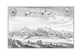 Aachen, C.1647 Giclee Print by Matthaus, The Elder Merian