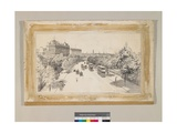 The Victoria Embankment, C.1910-14 Giclee Print by Thomas Raffles Davison