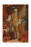 Emperor Charles Vi, after 1737 Giclee Print by Johann-Gottfried Auerbach