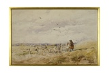 Changing Pastures, C.1903-10 Giclee Print by David Cox