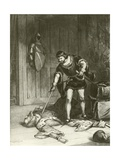 Third Part of Henry Vi. Act V-Scene VI Giclee Print by Felix Octavius Carr Darley
