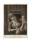 The Laundry Maid, Print Made by Philip Dawe, 1772 Giclee Print by Henry Robert Morland