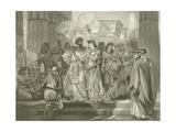 Antony and Cleopatra. Act I, Scene I Giclee Print by Felix Octavius Carr Darley