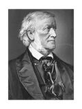 Richard Wagner, Late 19th Century Giclee Print by Carl Jaeger