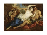 Venus and Adonis Giclee Print by Jan Boeckhorst