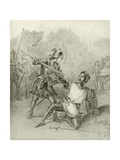 First Part of King Henry Vi. Act I, Scene II Giclee Print by Felix Octavius Carr Darley