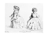 Victoria, the Princess Royal, 1843 Giclee Print by  Queen Victoria