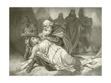 King Lear. Act V, Scene III Giclee Print by Felix Octavius Carr Darley