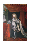 Louis Xiv During His Minority Giclee Print by Pierre Mignard