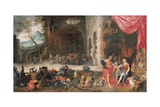 Venus at the Forge of Vulcan Giclee Print by Jan the Younger Brueghel