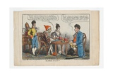 An Heir at Law !!, Print Made by Charles Williams, 1808 Giclee Print by George Moutard Woodward