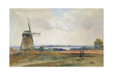 The Windmill, C.1840 Giclee Print by Peter De Wint
