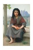 The Bohemian, 1890 Gicléedruk van William Adolphe Bouguereau