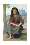The Bohemian, 1890 Giclee Print by William Adolphe Bouguereau