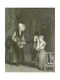 The Dorty Bairn Giclee Print by Sir David Wilkie