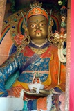 A Statue of Padmasambhava in the Temple of the Hemis Monastery, Ladakh Photographic Print