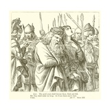 King Lear Giclee Print by Henry Courtney Selous