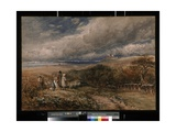 Peace and War, 1848 Giclee Print by David Cox