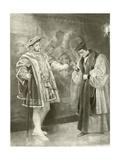 King Henry Viii. Act V, Scene I Giclee Print by Felix Octavius Carr Darley