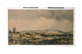 View in Epping Forest, Near High Beech, Essex, C.1848 Giclee Print by Peter De Wint