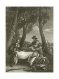 The Death of Sir Philip Sidney Giclee Print by Sir David Wilkie
