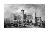 King's Cross Station, C.1852 Giclee Print by  English School