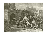 Third Part of Henry Vi. Act II, Scene II Giclee Print by Felix Octavius Carr Darley