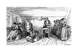 Shoemaking, Mid C19th Giclee Print by  Dalziel Brothers