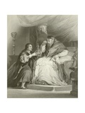 Benvenuto Cellini and the Pope Giclee Print by Sir David Wilkie