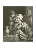 The Mother and Child Giclee Print by Sir David Wilkie