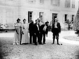 A Game of Pétanque at 'Le Relais', Home of the Natanson Family in Villeneuve-Sur-Yonne, C. 1899 Photographic Print