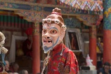 Masked Dancer Performing at the Annual Tshechu Festival, Hemis Monastery, Ladakh Photographic Print