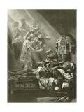 King Richard III. Act V, Scene III Giclee Print by Felix Octavius Carr Darley