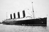 Rms Lusitania, 1907-15 Photographic Print by  English Photographer