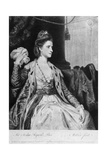 Polly Kennedy, Mezzotint by Thomas Watson, 1771 Giclee Print by Sir Joshua Reynolds