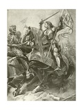 First Part King Henry Vi. Act I, Scene V Giclee Print by Felix Octavius Carr Darley
